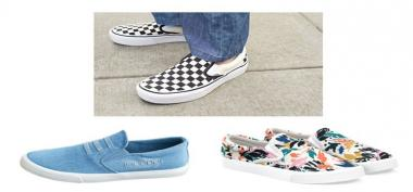 Tips Memilih Slip-on Sneakers Agar Tambah Fashionable